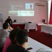 Prezentacija našeg projekta na prekograničnoj proljetnoj školi za studente bioloških nauka u Strugi (Makedonija)