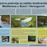 Plakat i letak o našem projektu istraživanja i zaštite kraških staništa