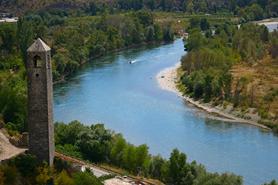 Neretva river-Pocitelj
